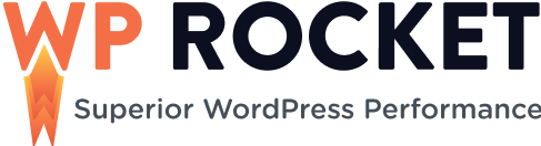 logo black wp rocket